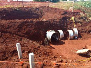 MDN perfuração de tunel não destrutivo